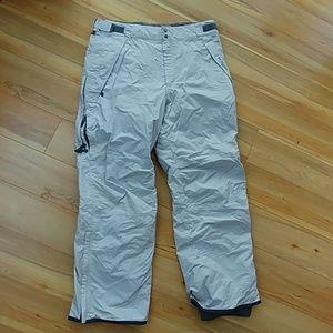 Columbia men's ski pants vertex L large white